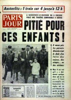 Paris Jour, nº 2957, 18/03/1969, p. 1