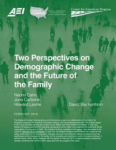 Two Perspectives on Demographic Change and the Future of the Family