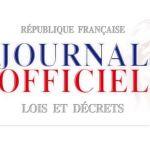 Journal officiel lois et décrets
