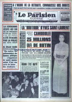 Le Parisien libéré, n° 7606, p. 1