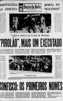 Diário da Noite, n° 13342, 13/02/1969, p. 1