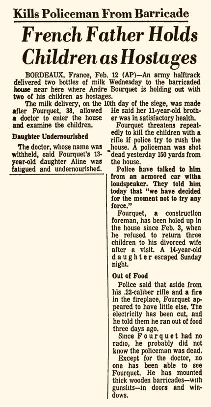 Pittsburgh Post-Gazette, vol. 42, n° 169, 13/02/1969, p. 42