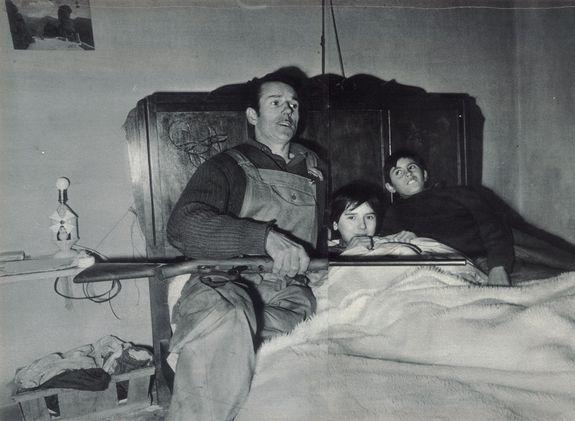 André, Aline et Francis Fourquet