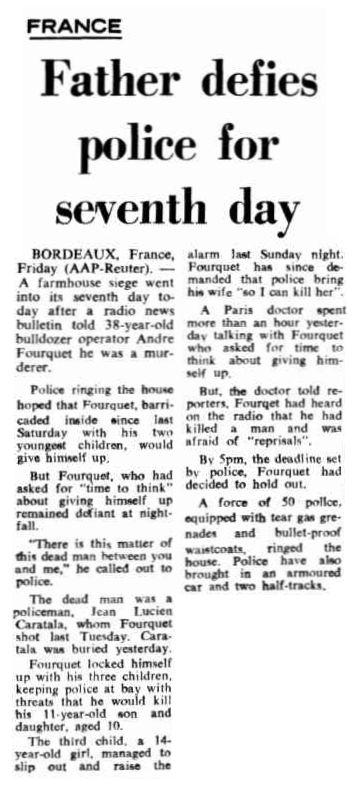 The Canberra Times, vol. 43, nº 12236, 15 février 1969, p. 7