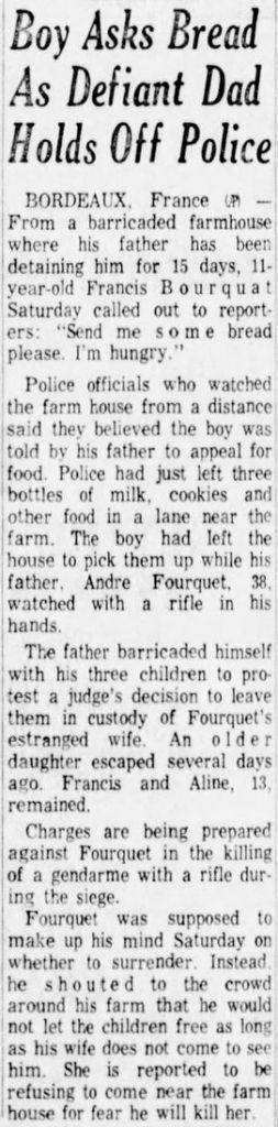 Albuquerque Journal, vol. 359, nº 47, 16 février 1969, p. G-3