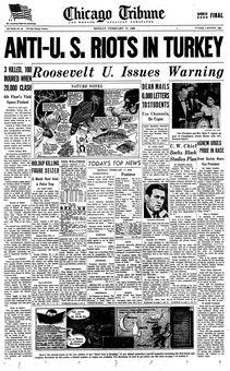 Chicago Tribune, nº 48, 17 février 1969, p. 1