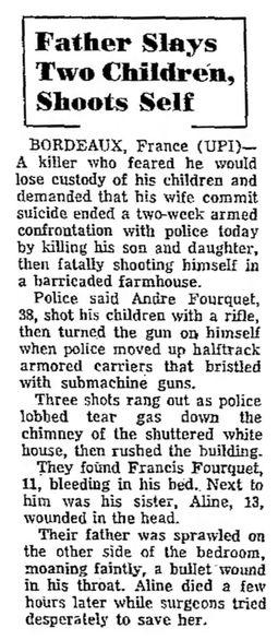 Cumberland Evening Times, vol. C, nº 47, 17 février 1969, p. 1