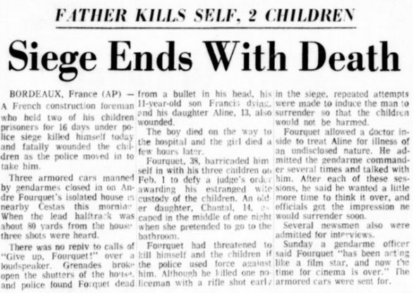 Delaware County Daily Times, nº 61481, 17 février 1969, p. 1