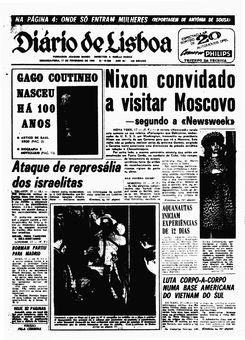 Diário de Lisboa, nº 16582, 17 février 1969, p. 1