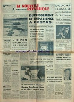 La Nouvelle République du Centre-Ouest, nº 7426, 17 février 1969, p. 1