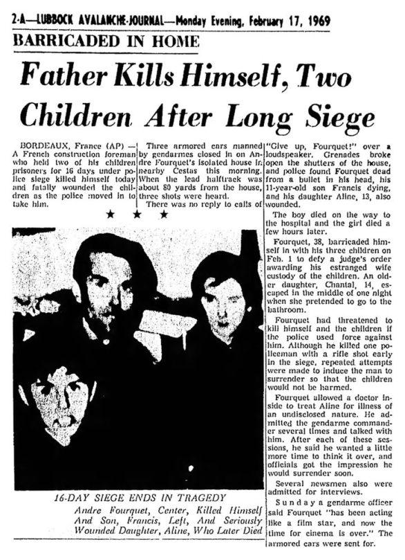 Lubbock Avalanche-Journal, vol. 45, nº 115, 17 février 1969, p. 2A