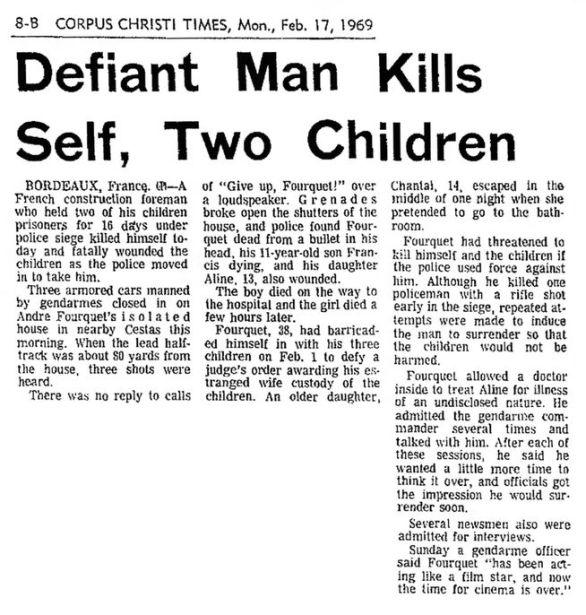The Corpus Christi Times, nº 191, 17 février 1969, p. 8-B
