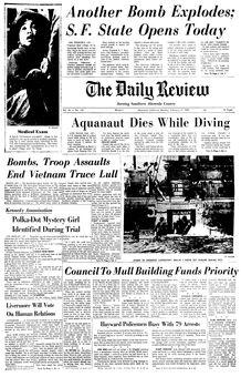 The Daily Review, vol. 76, nº 139, 17 février 1969, p. 1