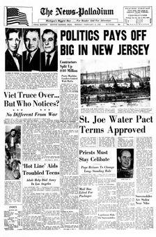 The News-Palladium, 17 février 1969, p. 1