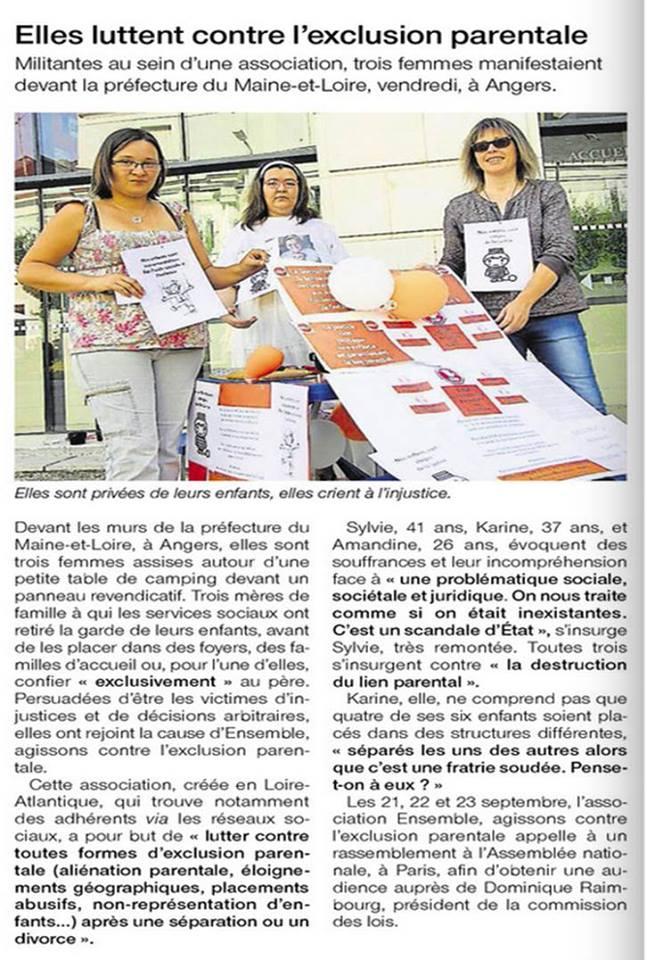Ouest France, 06/09/2016, p. 8
