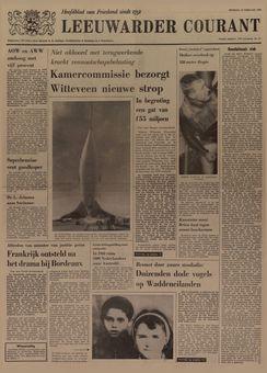 Leeuwarder Courant, nº 41, 18/02/1969, p. 1