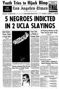Los Angeles Times, vol. LXXXVIII, 18/02/1969, p. 1