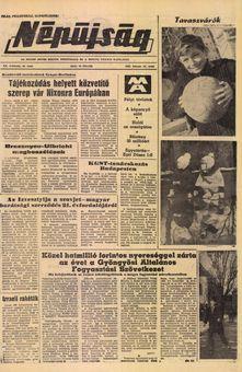Népújság, vol. XX, nº 40, 18/02/1969, p. 1