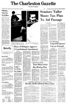 The Charleston Gazette, 18/02/1969, p. 1