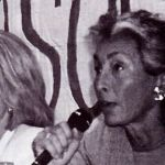 Michèle Agrapart-Delmas et Martine Segalen lors du septième congrès SOS PAPA, Paris, 13 juin 1998 (© SOS PAPA)