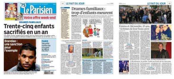Le Parisien, n° 21840, 28/11/2014, pp. 1-3