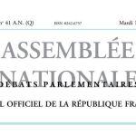 Journal officiel de la République française, édition « Débats parlementaires – Assemblée nationale », nº 41 AN (Q), 11 octobre 2016