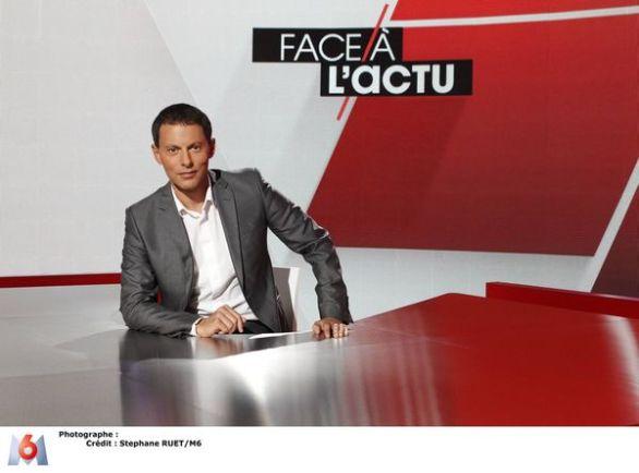 Marc-Olivier Fogiel, Face à l'actu