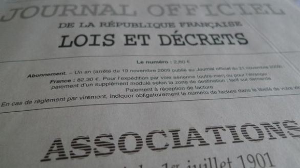 Journal officiel associations