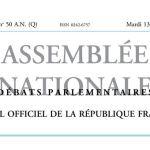 Journal officiel de la République française, édition « Débats parlementaires – Assemblée nationale », nº 50 AN (Q), 13 décembre 2016