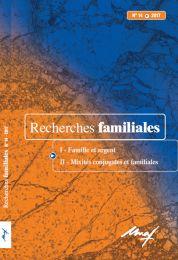 Recherches familiales, nº 14, 2017