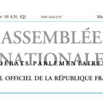 Journal officiel de la République française, édition « Débats parlementaires – Assemblée nationale », nº 10 AN (Q), 7 mars 2017
