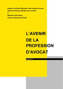 L'avenir de la profession d'avocat