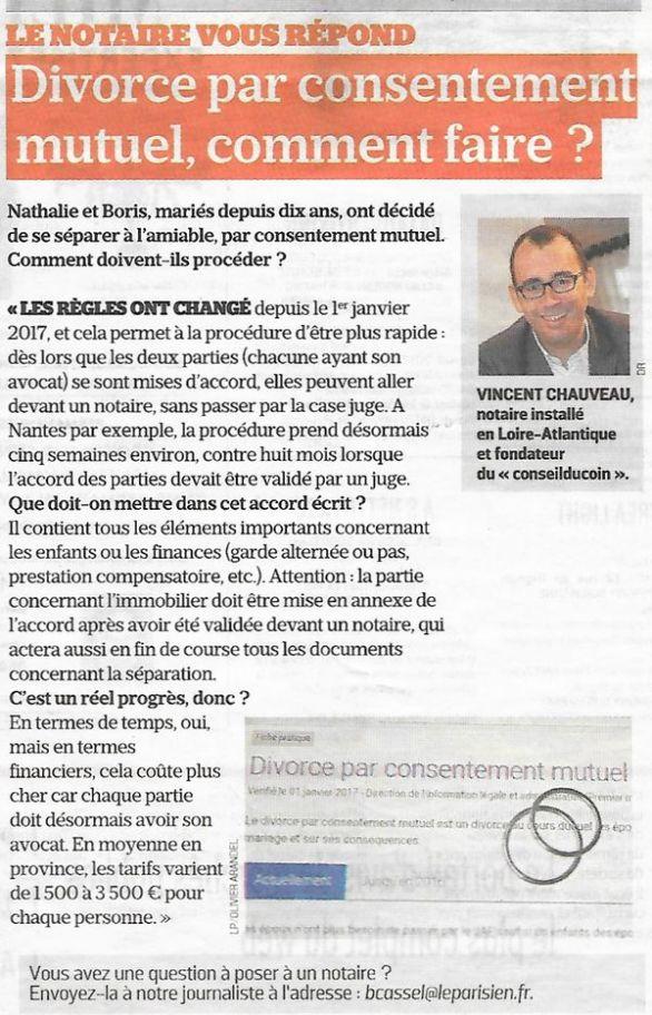 Le Parisien (édition Val-de-Marne), nº 25593, 25 avril 2017, p. 17