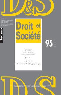 Droit et Société, nº 95, 12 avril 2017