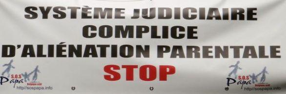 Système judiciaire complice d'aliénation parentale