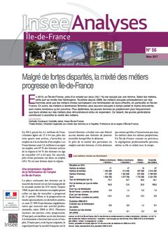 Insee Analyses Île-de-France, nº 56, 7 mars 2017