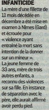 Le Parisien, nº 22816, 11 janvier 2018, p. 12