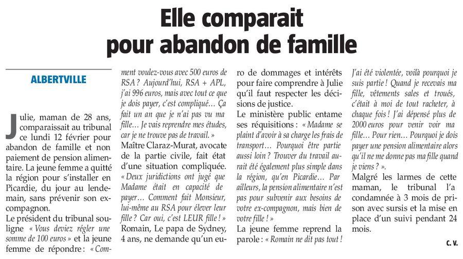 La Savoie, nº 2109, 15 février 2018, p. 22