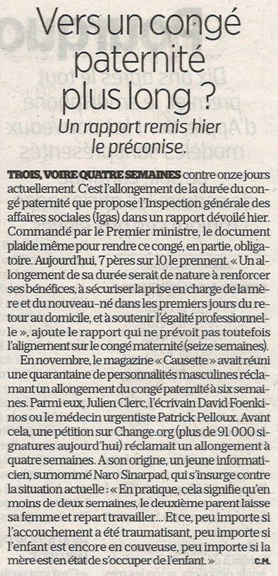 Le Parisien, nº 23024, 12 septembre 2018, p. 9