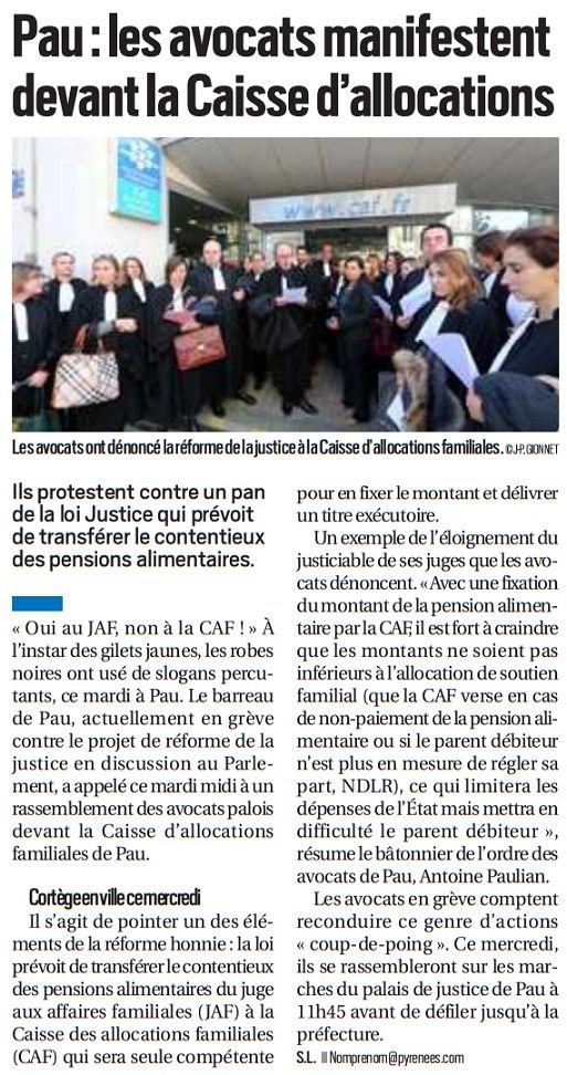 La République des Pyrénées, nº 22520, 12 décembre 2018, p. 5