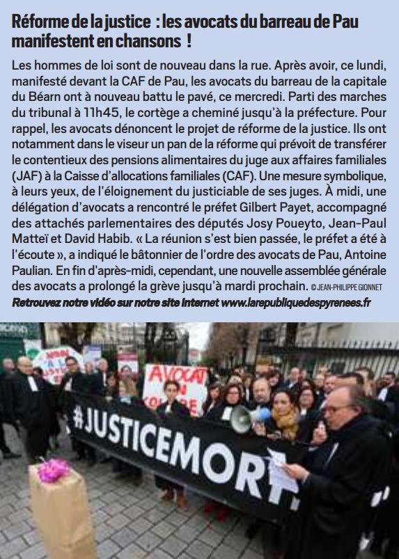 La République des Pyrénées, nº 22521, 13 décembre 2018, p. 5