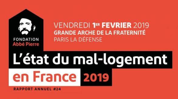 L'État du mal-logement en France 2019