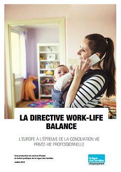 La directive work-life balance