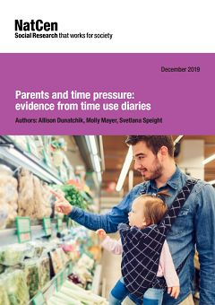 Parents and time pressure: evidence from time use diaries