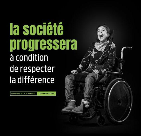 La société progressera (© Alliance Vita)