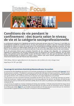 Insee Focus, nº 197, 19 juin 2020