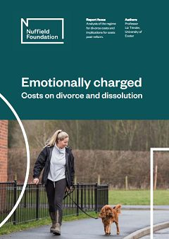 Emotionally charged: costs on divorce and dissolution