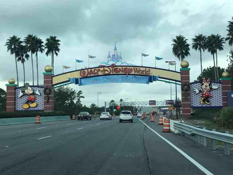 Foto da Entrada do Walt Disney World resort em orlando