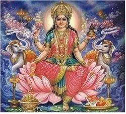 Bénédictions d'Or de Lakshmi