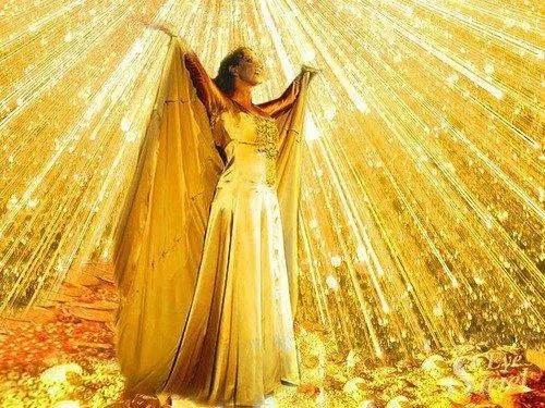 femme lumiere solaire